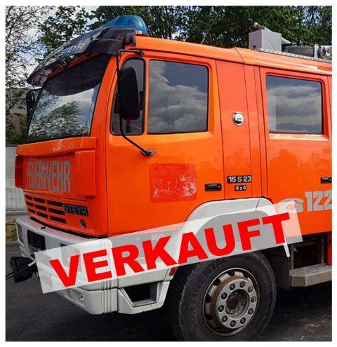 Optimobil in Grödig bei Salzburg verkauft Feuerwehrfahrzeug Steyr 15S23 RLF