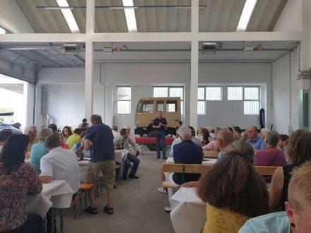Optimobil Tag der offenen Tür - bei Optimobil FAhrzeugbau in Grödig bei Salzburg