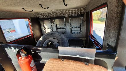 innenraum eines Steyr12S21 umgebaut zu einem Reise- oder Expeditionsmobil - von Optimobil Salzburg